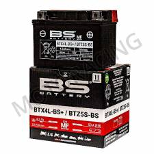 ΜΠΑΤΑΡΙΑ GILERA RUNNER 50 SP 97'-05' / KTM EXC 200 98'-15' BS-BATTERY 12V 4.2Ah BTX4L-BS ΜΕ ΥΓΡΑ