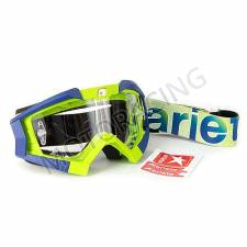 ΜΑΣΚΑ OFF ROAD ARIETE Riding Crows 13950-LA15 ΜΠΛΕ lime
